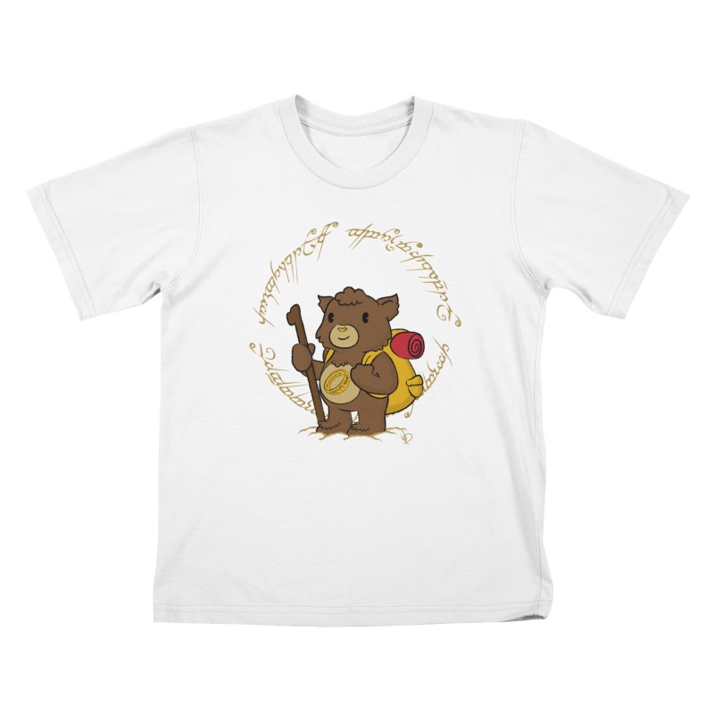 Caring Baggins Kids Toddler T-Shirt by pepemaracas's Artist Shop