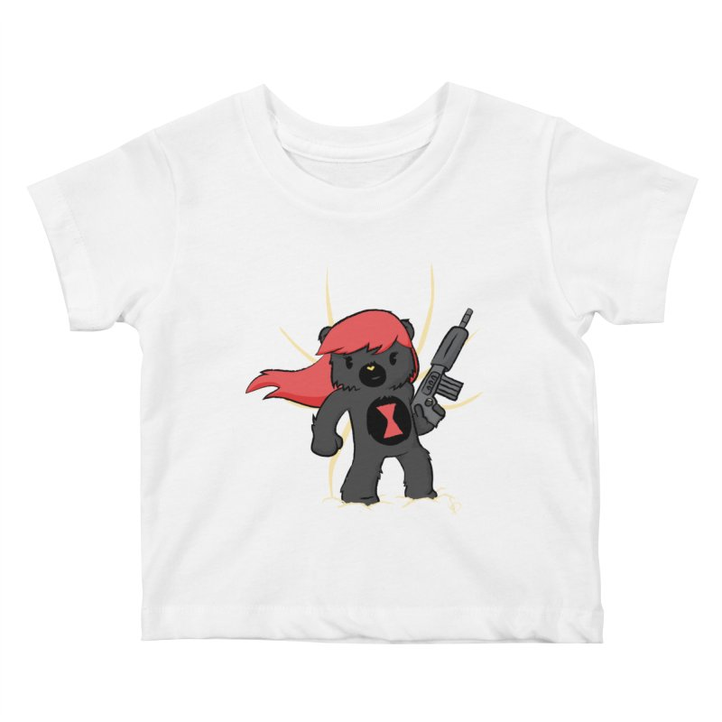 Bear Widow Kids Baby T-Shirt by pepemaracas's Artist Shop