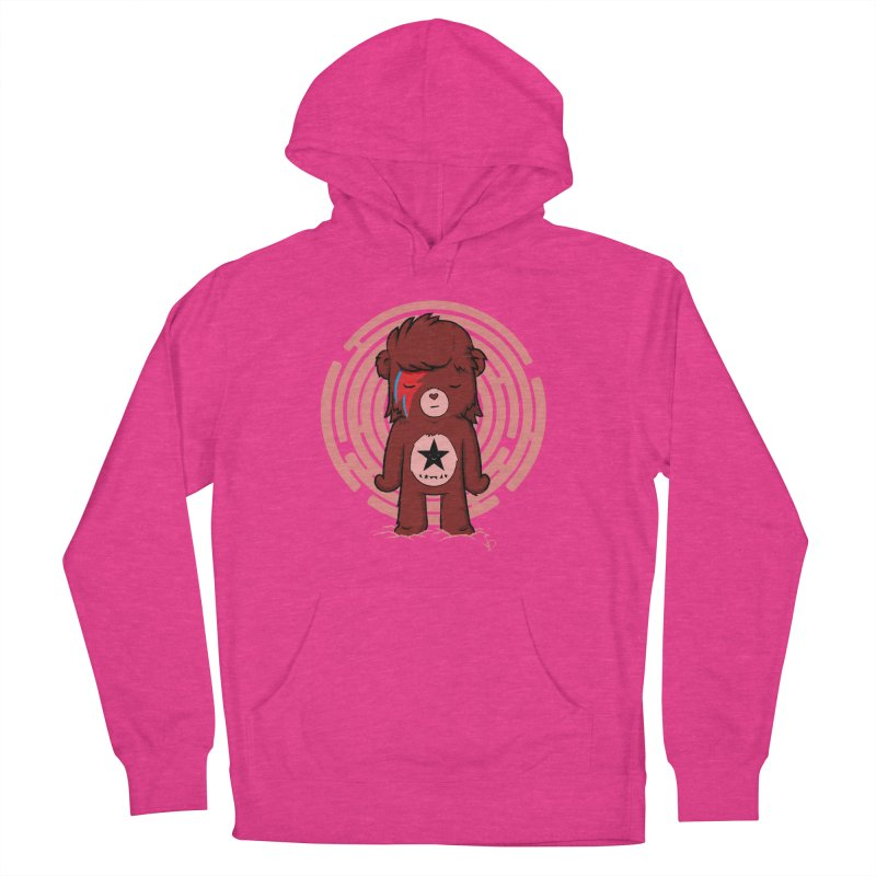 Caring Bowie Women's Pullover Hoody by pepemaracas's Artist Shop