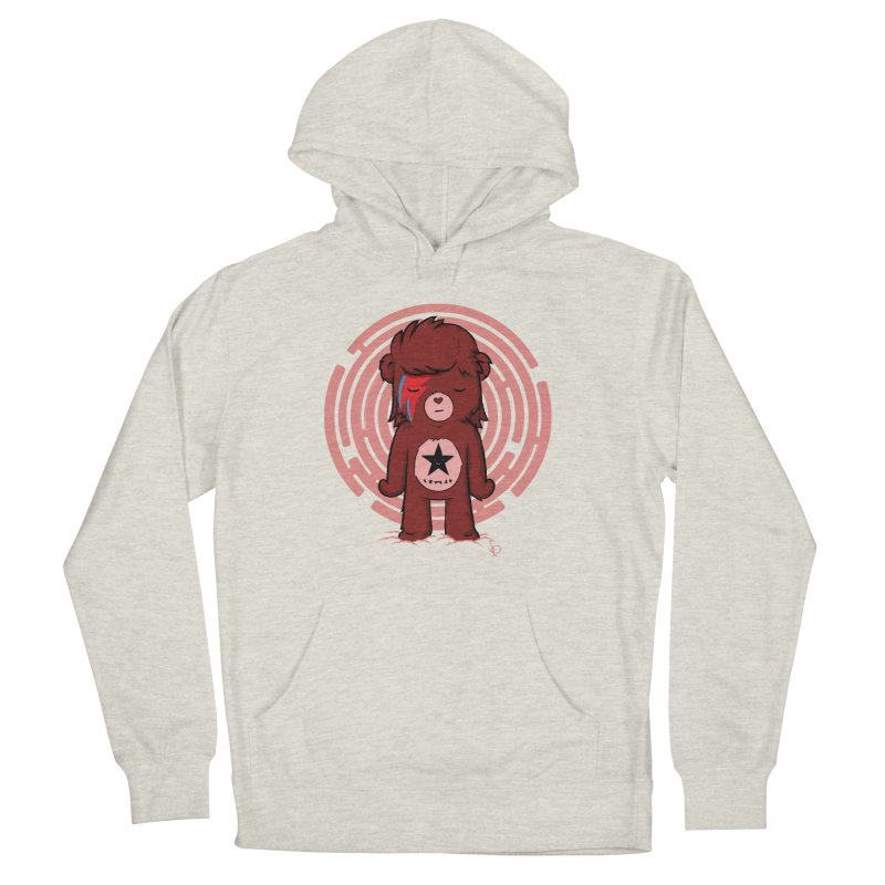 Caring Bowie Men's Pullover Hoody by pepemaracas's Artist Shop