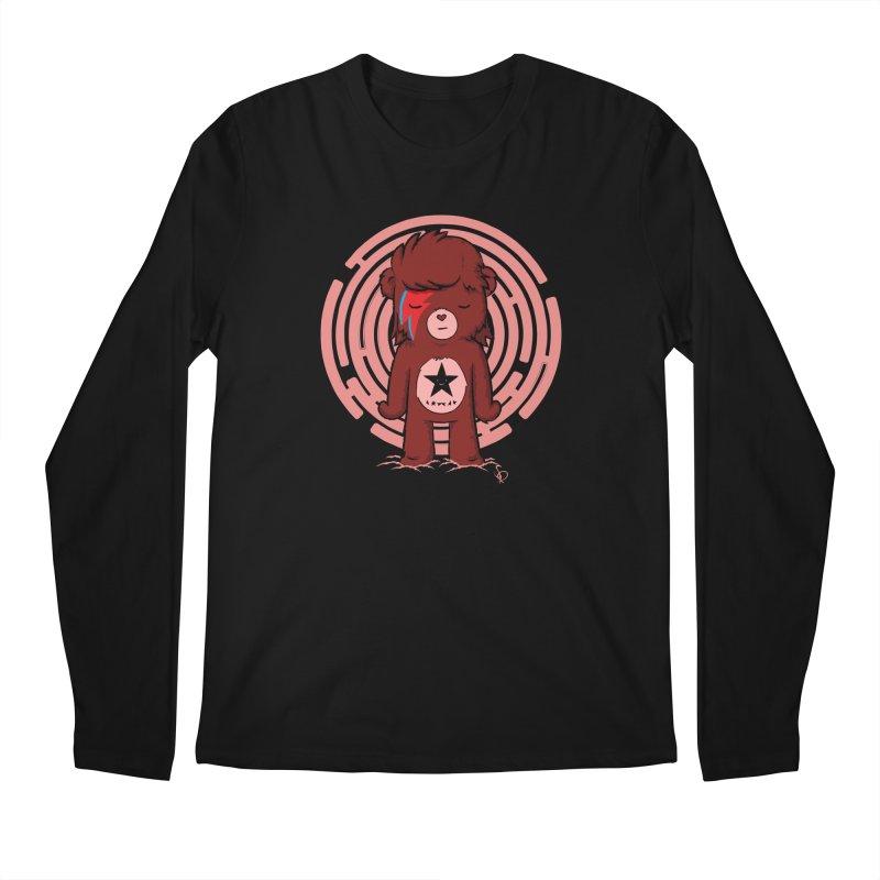 Caring Bowie Men's Longsleeve T-Shirt by pepemaracas's Artist Shop
