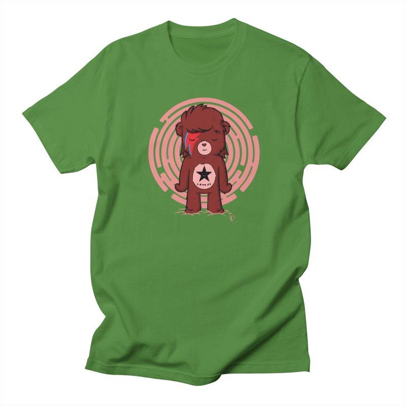 Caring Bowie Men's T-Shirt by pepemaracas's Artist Shop
