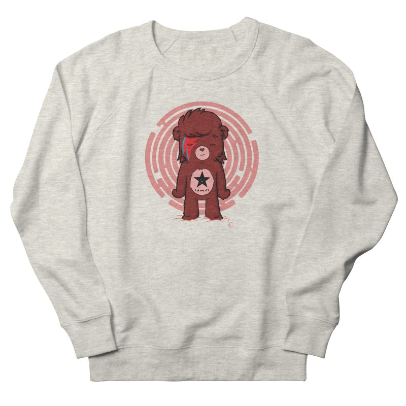Caring Bowie Men's Sweatshirt by pepemaracas's Artist Shop