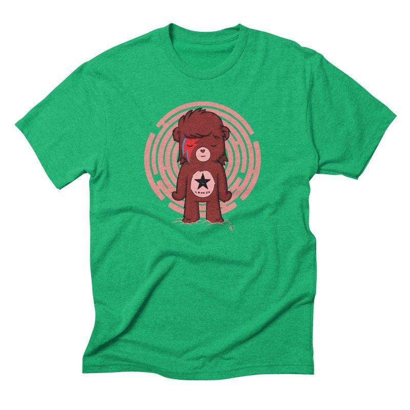 Caring Bowie Men's Triblend T-shirt by pepemaracas's Artist Shop
