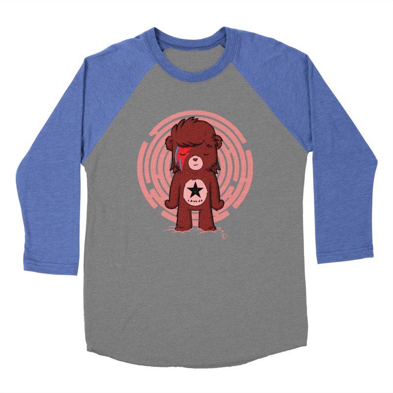 Caring Bowie Women's Baseball Triblend T-Shirt by pepemaracas's Artist Shop