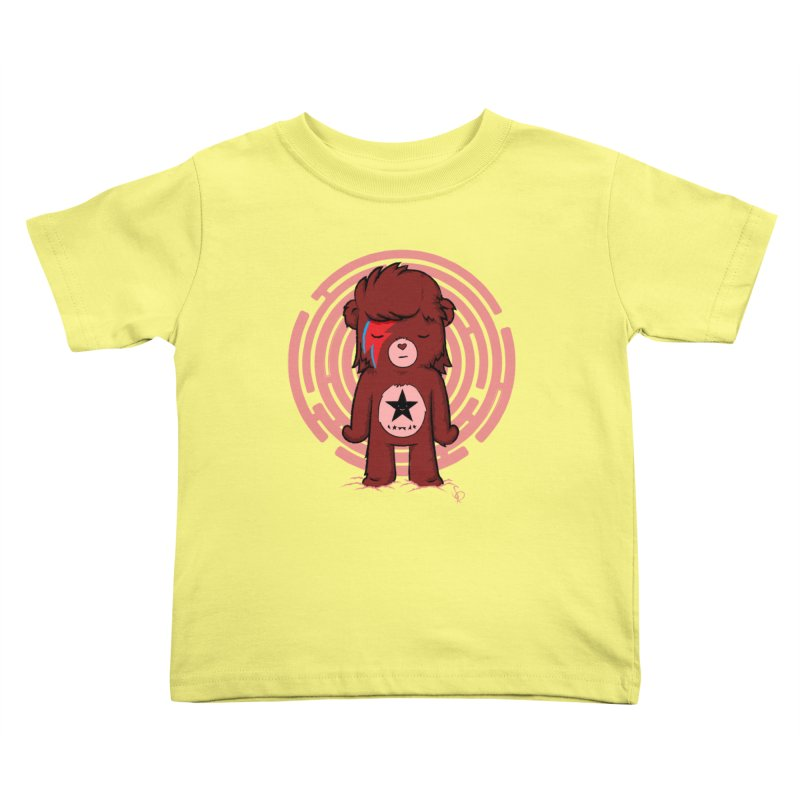 Caring Bowie Kids Toddler T-Shirt by pepemaracas's Artist Shop