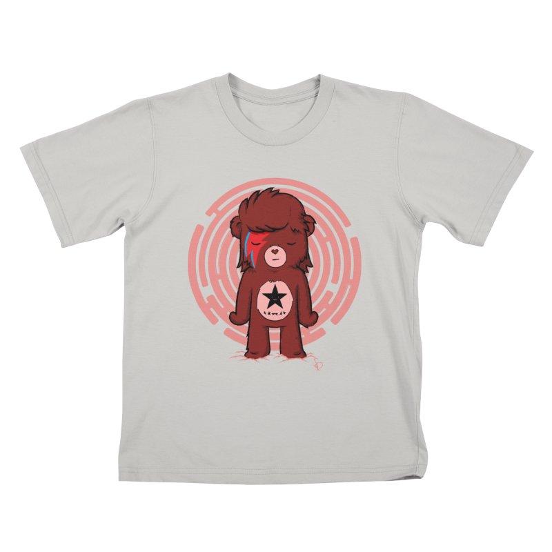 Caring Bowie Kids T-shirt by pepemaracas's Artist Shop