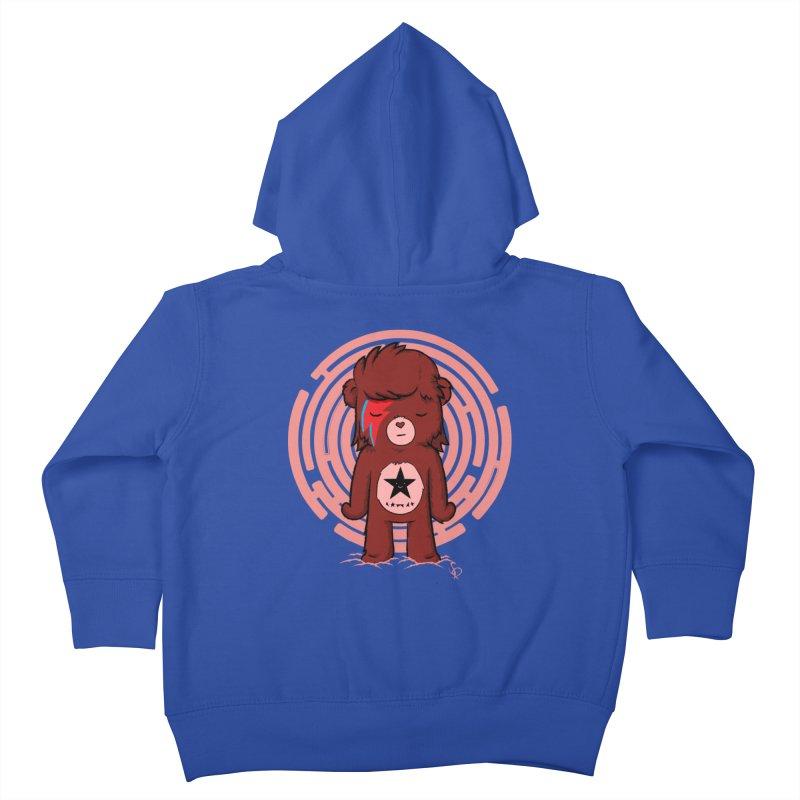 Caring Bowie Kids Toddler Zip-Up Hoody by pepemaracas's Artist Shop
