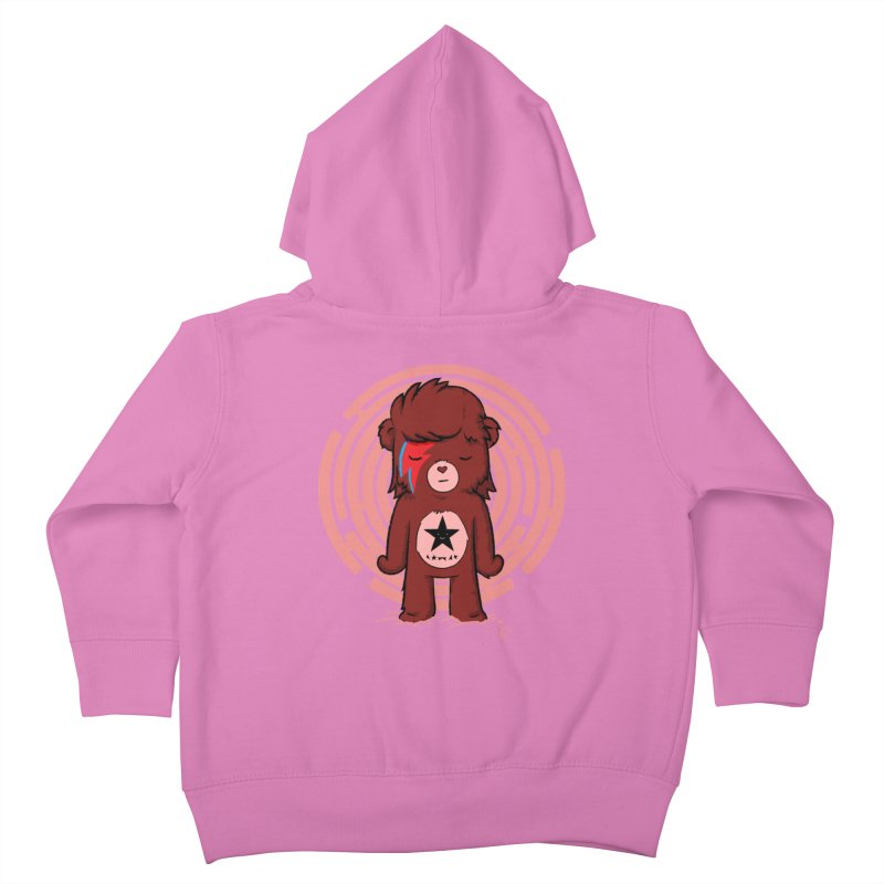 Caring Bowie Kids Toddler Zip-Up Hoody by pepemaracas's Artist Shop