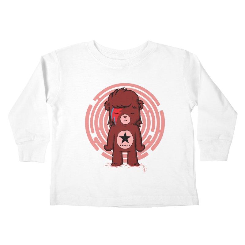Caring Bowie Kids Toddler Longsleeve T-Shirt by pepemaracas's Artist Shop
