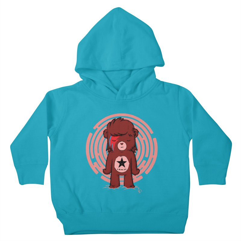 Caring Bowie Kids Toddler Pullover Hoody by pepemaracas's Artist Shop