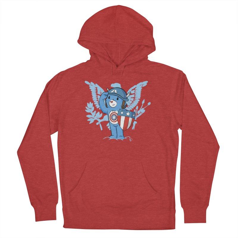 Captain Americare Women's Pullover Hoody by pepemaracas's Artist Shop