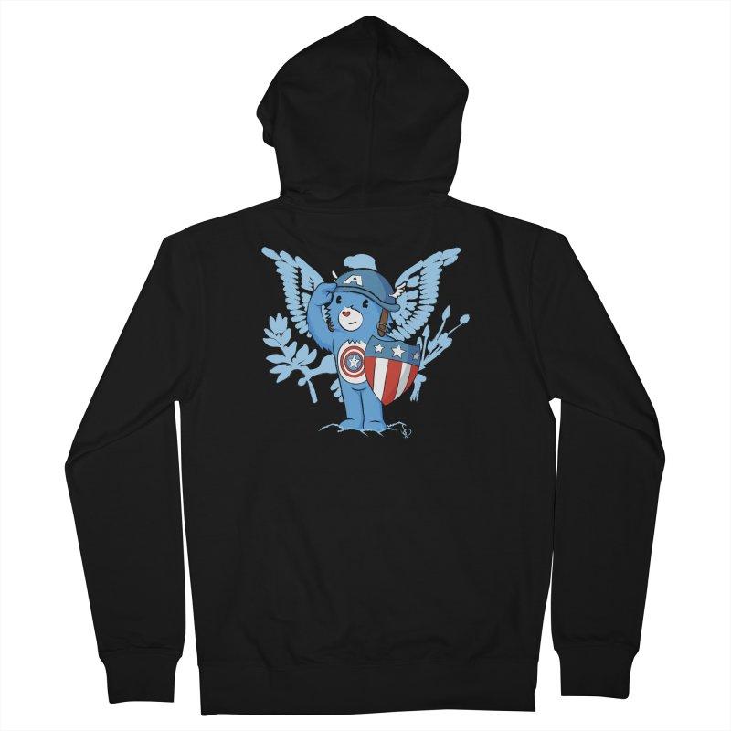 Captain Americare Women's Zip-Up Hoody by pepemaracas's Artist Shop