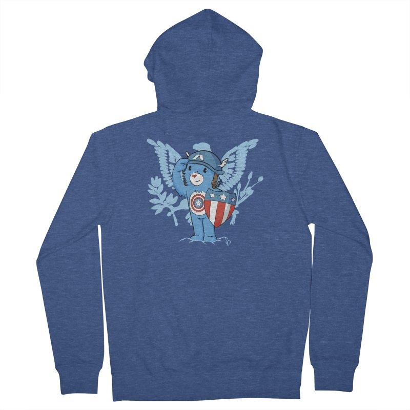 Captain Americare Men's Zip-Up Hoody by pepemaracas's Artist Shop