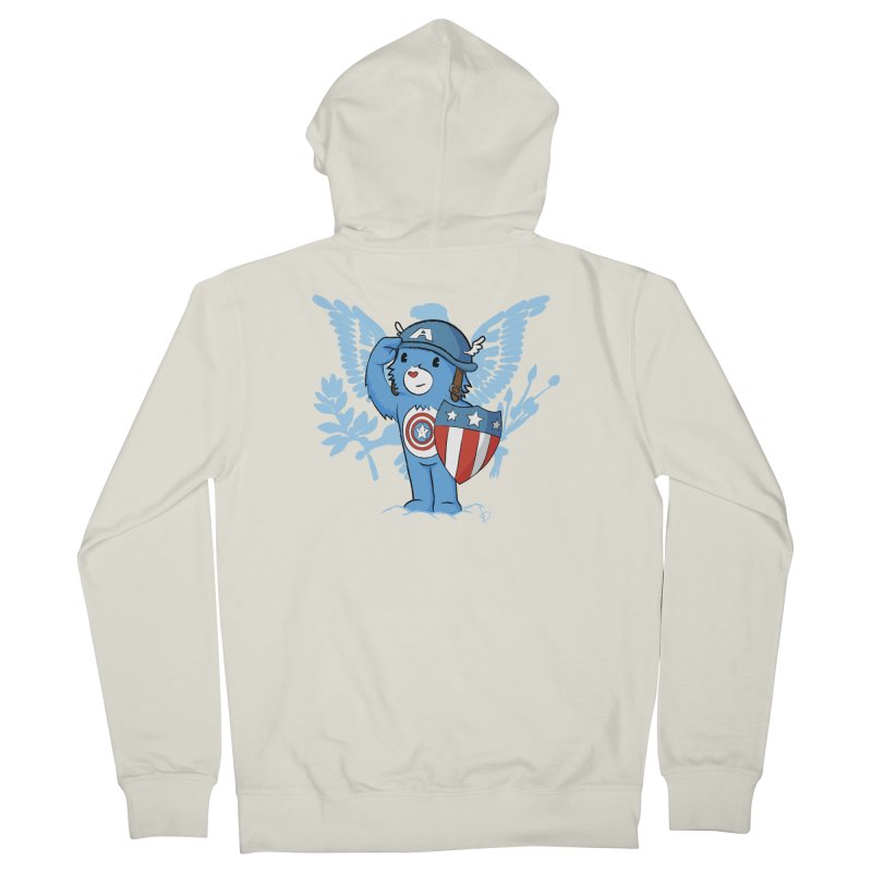 Captain Americare Men's Zip-Up Hoody by pepemaracas's Artist Shop