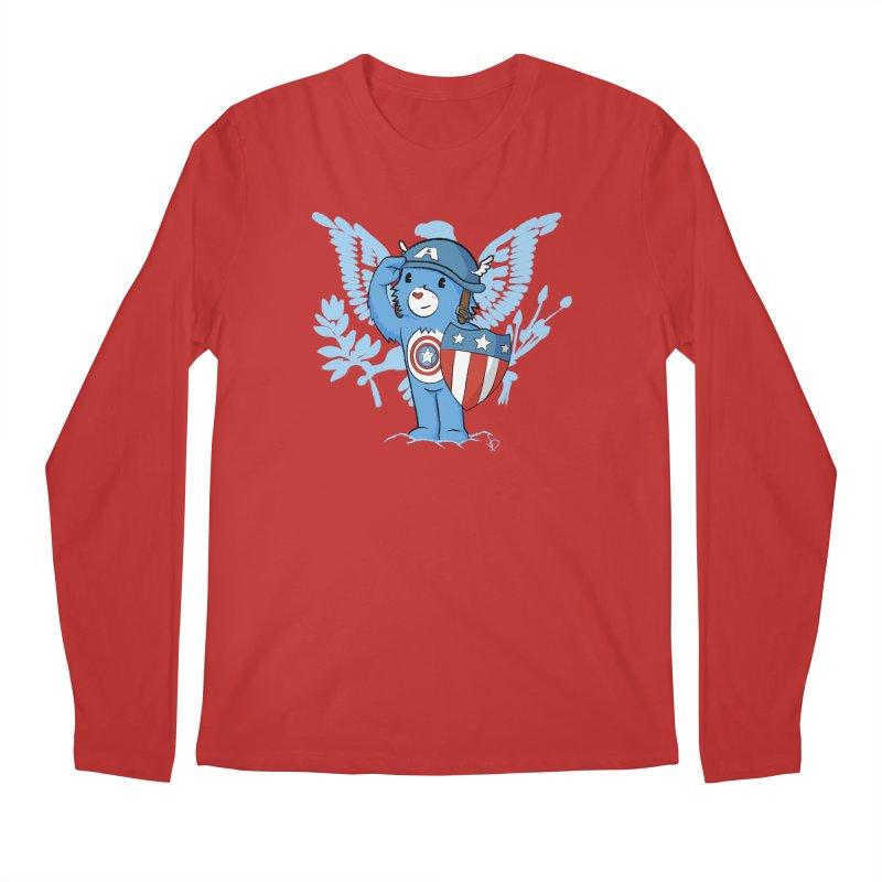 Captain Americare Men's Longsleeve T-Shirt by pepemaracas's Artist Shop