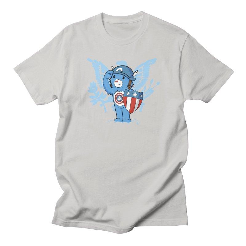 Captain Americare Men's T-shirt by pepemaracas's Artist Shop