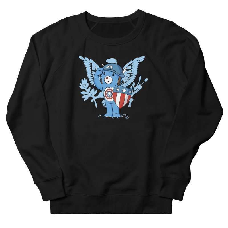Captain Americare Women's Sweatshirt by pepemaracas's Artist Shop