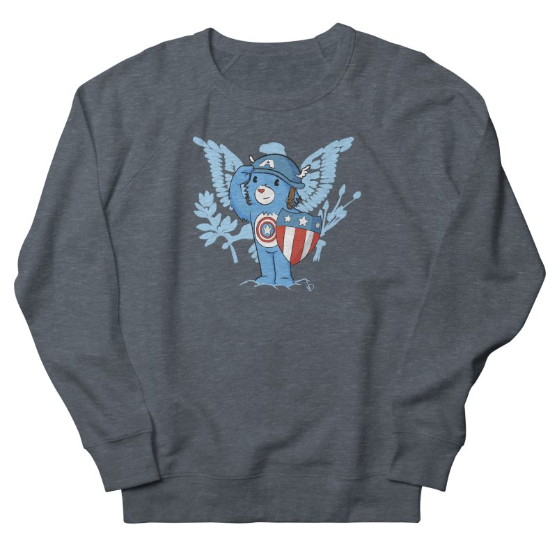 Captain Americare Men's Sweatshirt by pepemaracas's Artist Shop