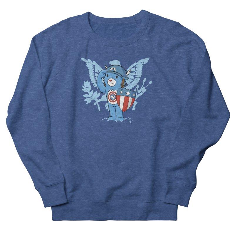 Captain Americare Men's Sweatshirt by pepemaracas's Artist Shop
