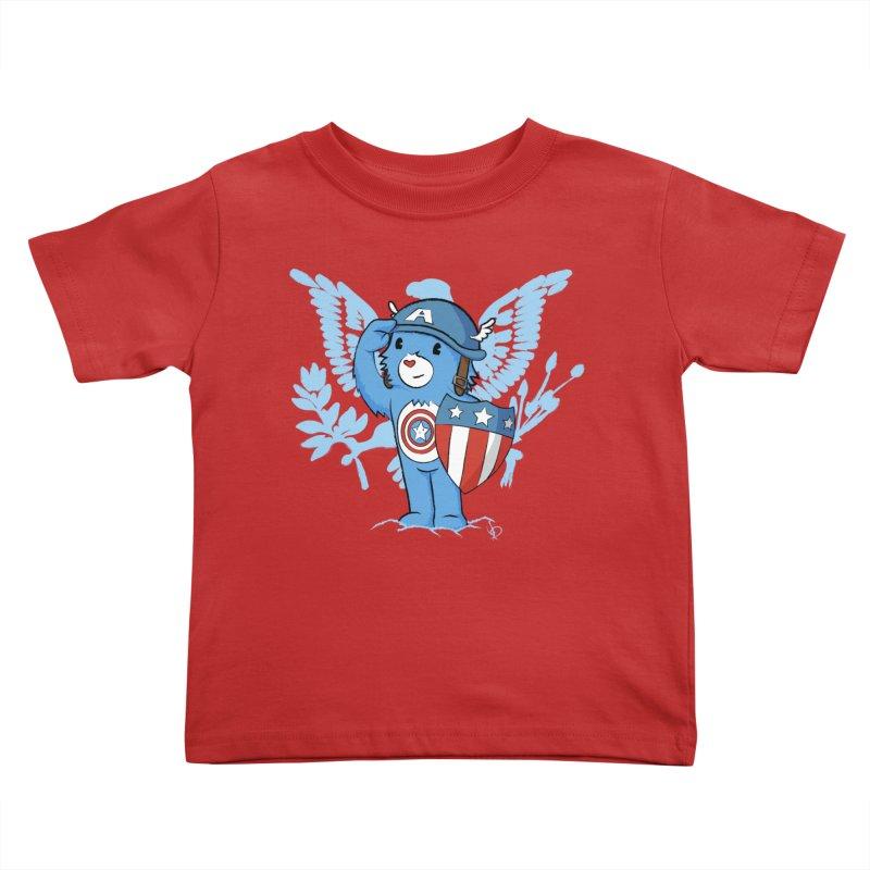 Captain Americare Kids Toddler T-Shirt by pepemaracas's Artist Shop