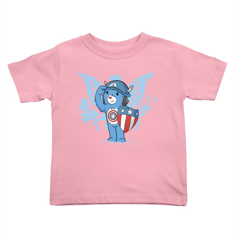 Captain Americare Kids Toddler T-Shirt by pepemaracas's Artist Shop