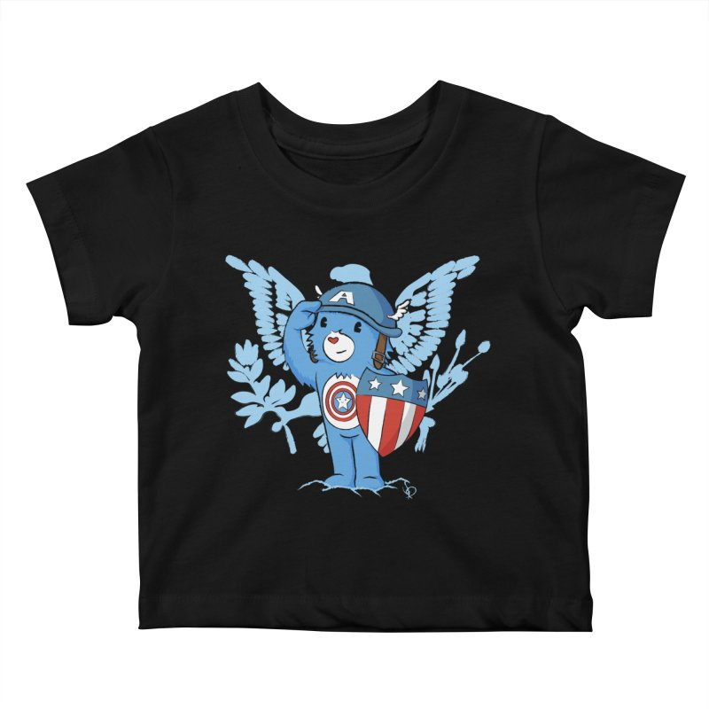 Captain Americare Kids Baby T-Shirt by pepemaracas's Artist Shop
