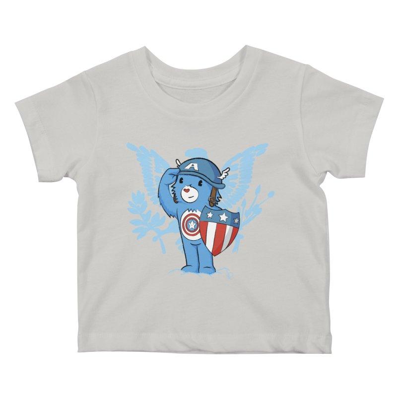 Captain Americare Kids Baby T-Shirt by pepemaracas's Artist Shop