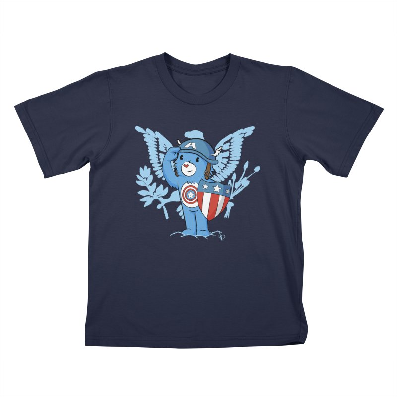 Captain Americare Kids T-Shirt by pepemaracas's Artist Shop