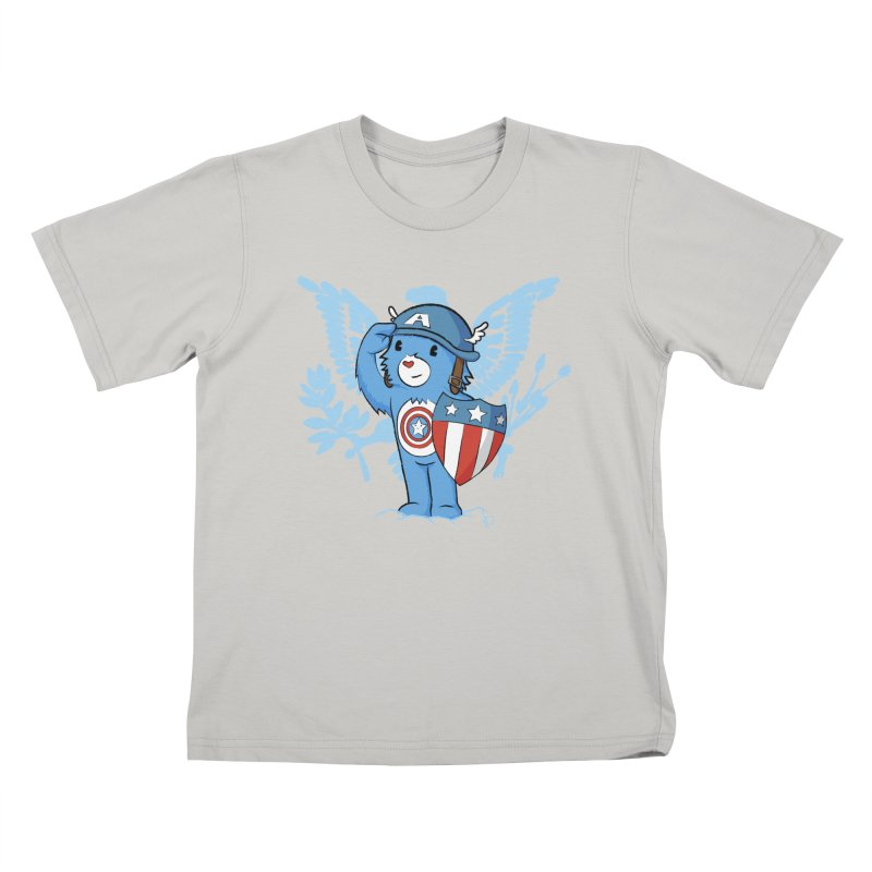 Captain Americare Kids T-shirt by pepemaracas's Artist Shop