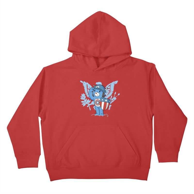 Captain Americare Kids Pullover Hoody by pepemaracas's Artist Shop