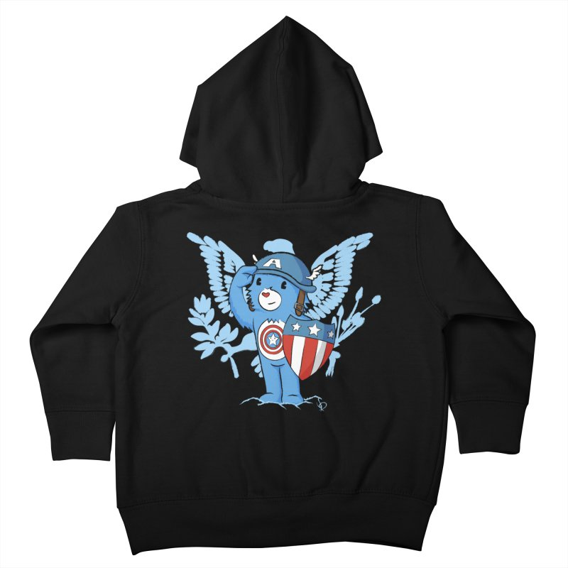 Captain Americare Kids Toddler Zip-Up Hoody by pepemaracas's Artist Shop