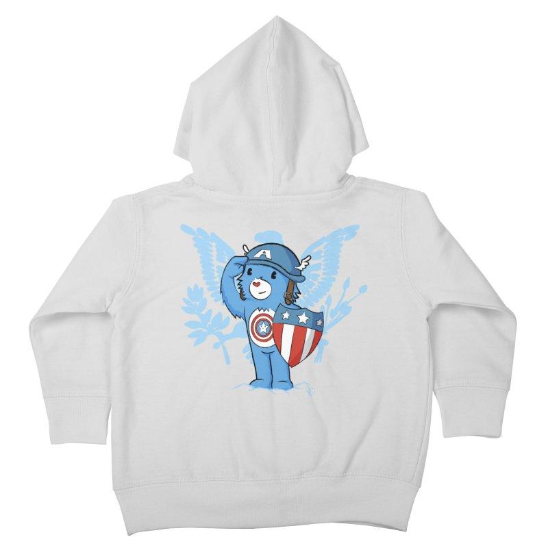 Captain Americare Kids Toddler Zip-Up Hoody by pepemaracas's Artist Shop