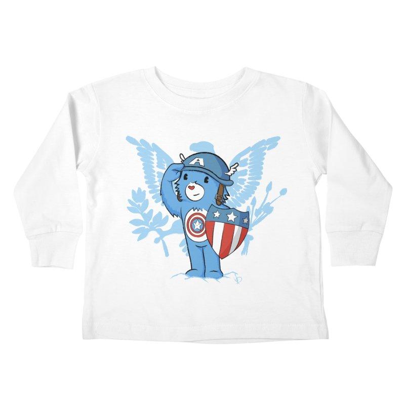 Captain Americare Kids Toddler Longsleeve T-Shirt by pepemaracas's Artist Shop