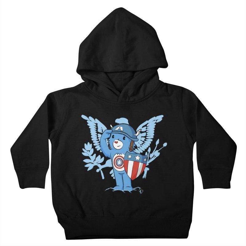 Captain Americare Kids Toddler Pullover Hoody by pepemaracas's Artist Shop