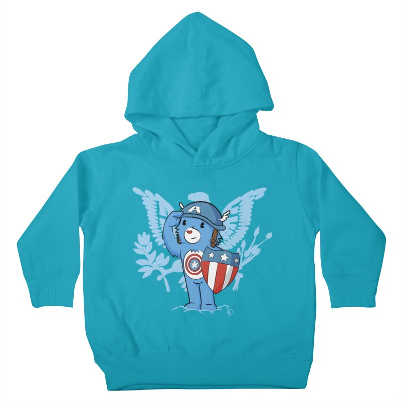 Captain Americare Kids Toddler Pullover Hoody by pepemaracas's Artist Shop