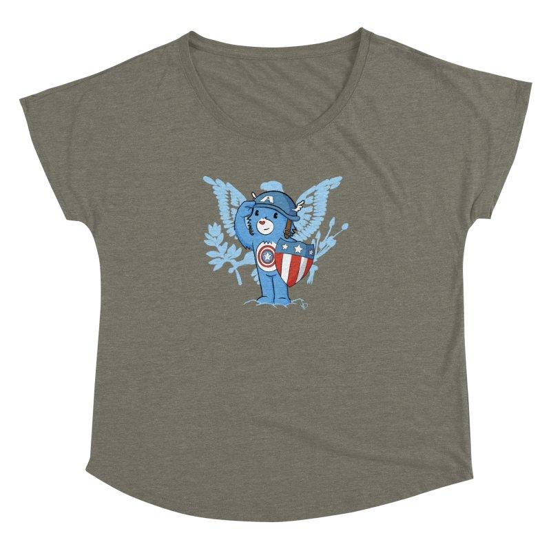 Captain Americare Women's Dolman by pepemaracas's Artist Shop