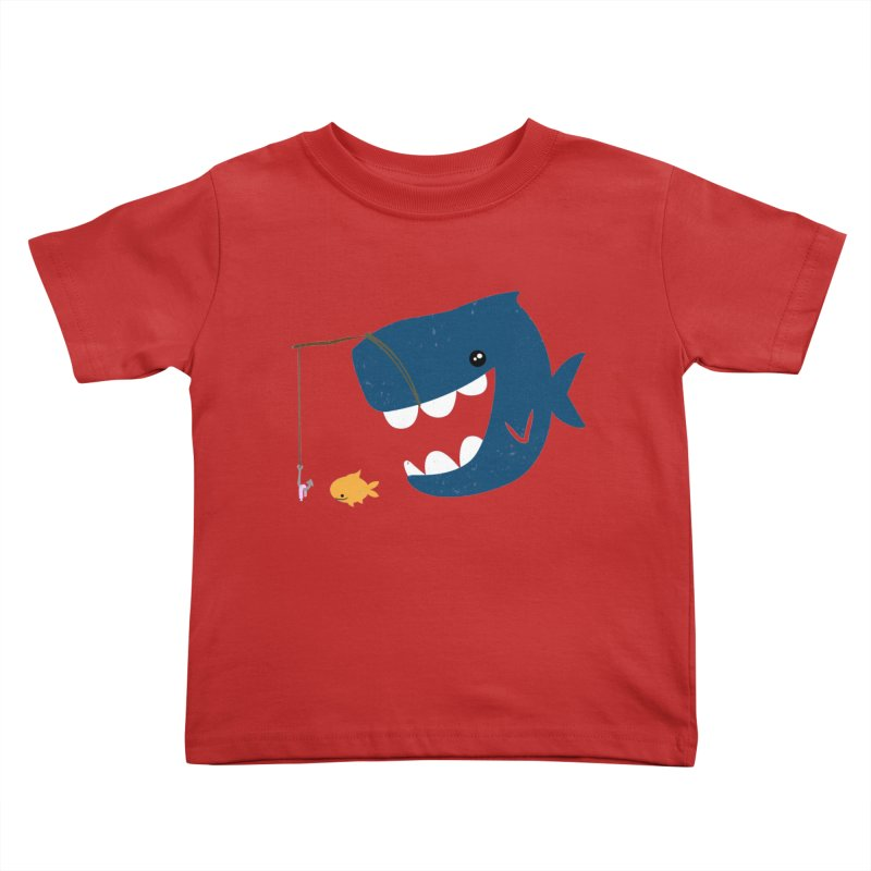 Mouth That Feeds Kids Toddler T-Shirt by pepemaracas's Artist Shop