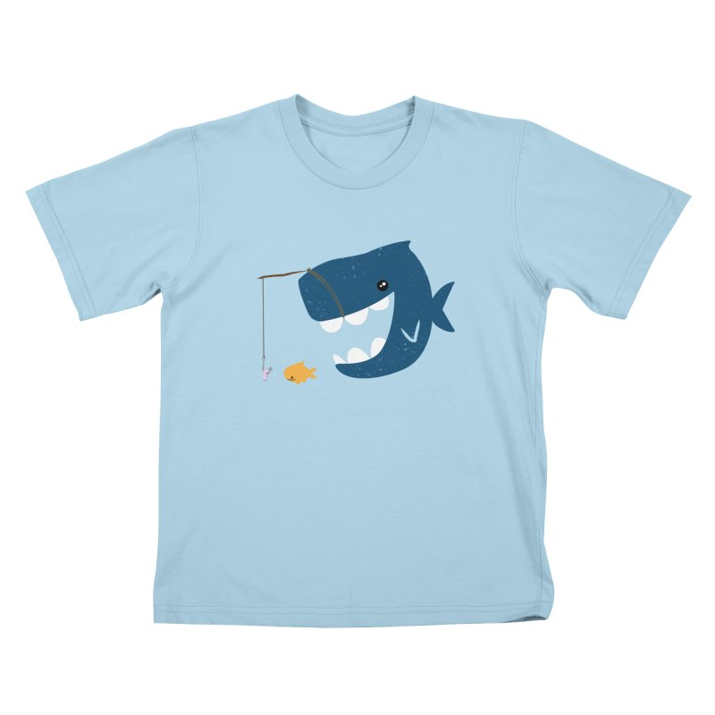 Mouth That Feeds Kids T-shirt by pepemaracas's Artist Shop