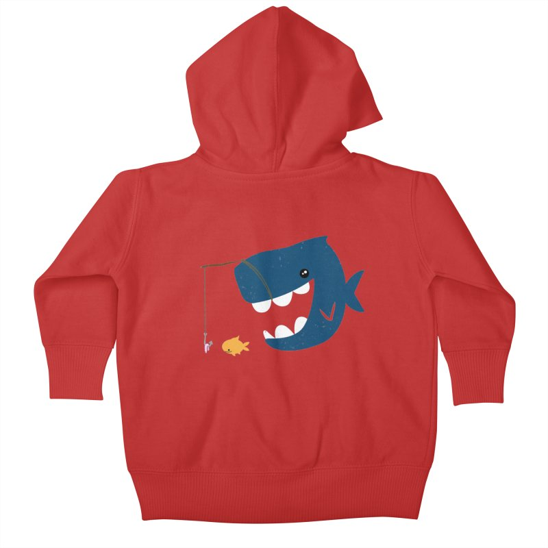 Mouth That Feeds Kids Baby Zip-Up Hoody by pepemaracas's Artist Shop