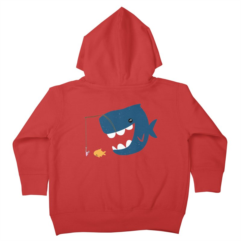 Mouth That Feeds Kids Toddler Zip-Up Hoody by pepemaracas's Artist Shop