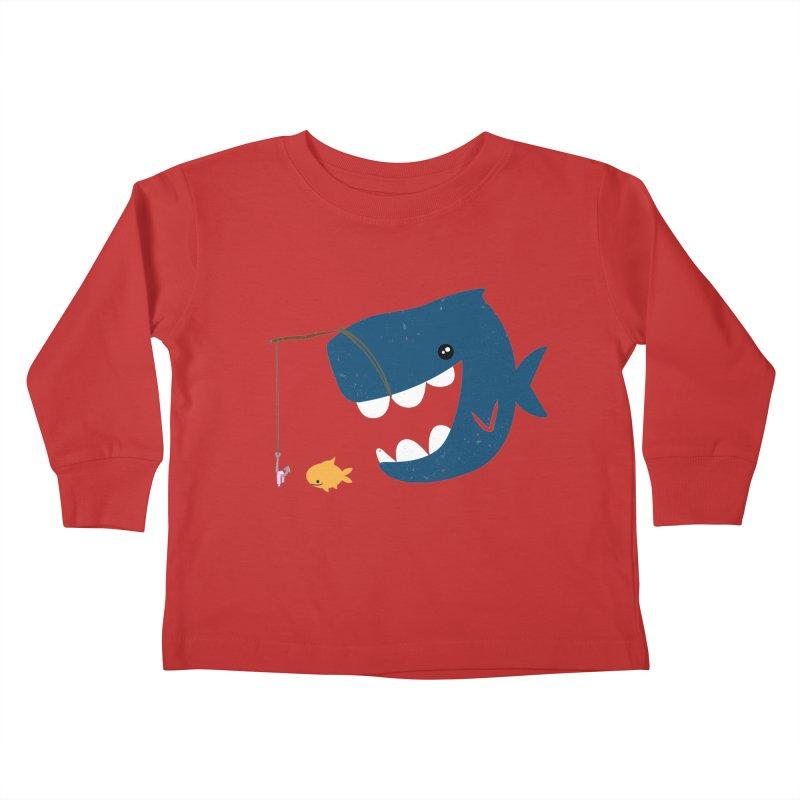 Mouth That Feeds Kids Toddler Longsleeve T-Shirt by pepemaracas's Artist Shop