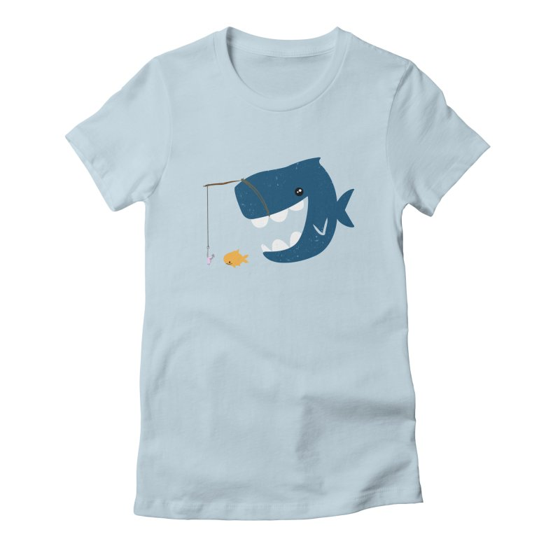 Mouth That Feeds Women's Fitted T-Shirt by pepemaracas's Artist Shop