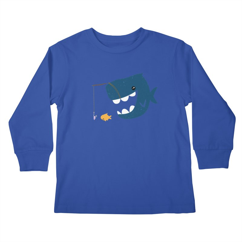 Mouth That Feeds Kids Longsleeve T-Shirt by pepemaracas's Artist Shop