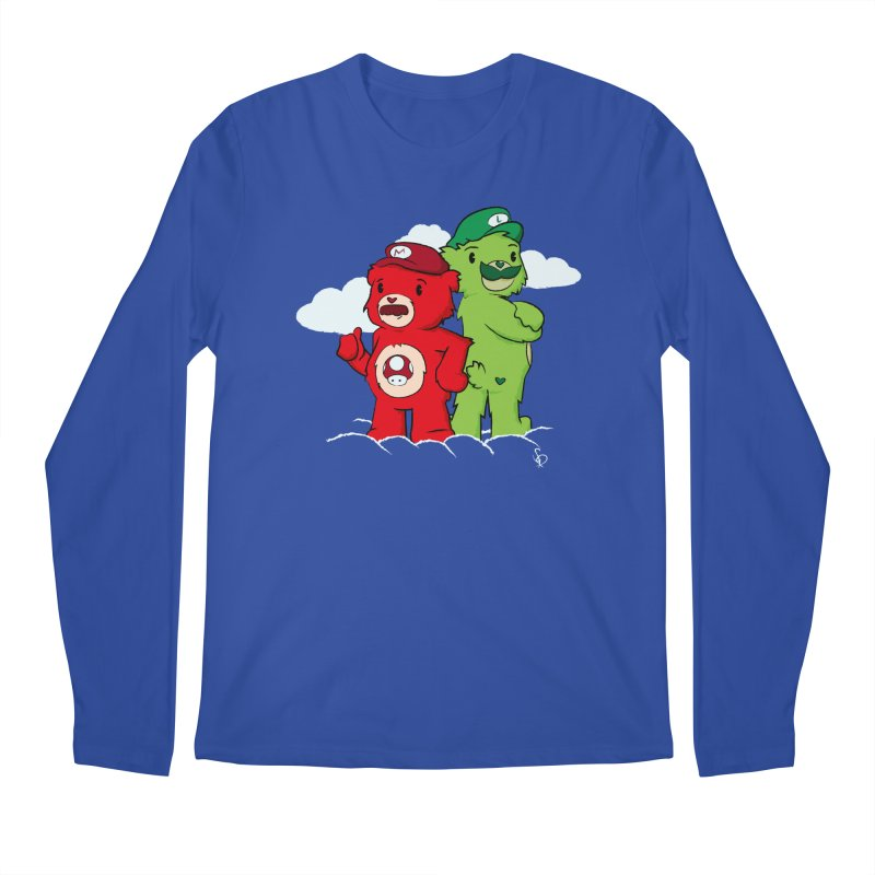 Care Bros Men's Longsleeve T-Shirt by pepemaracas's Artist Shop