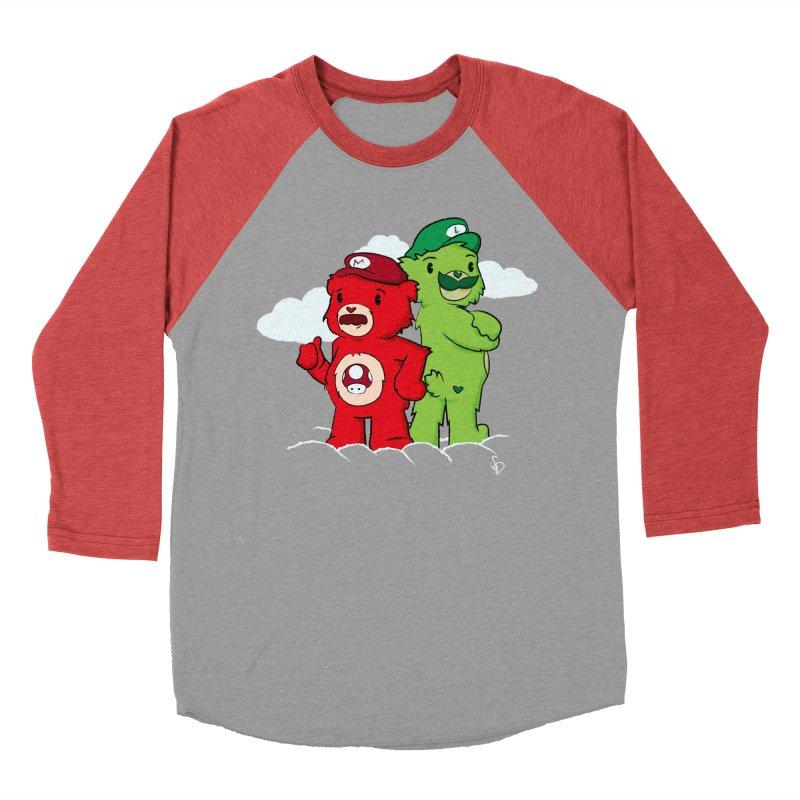 Care Bros Men's Baseball Triblend T-Shirt by pepemaracas's Artist Shop