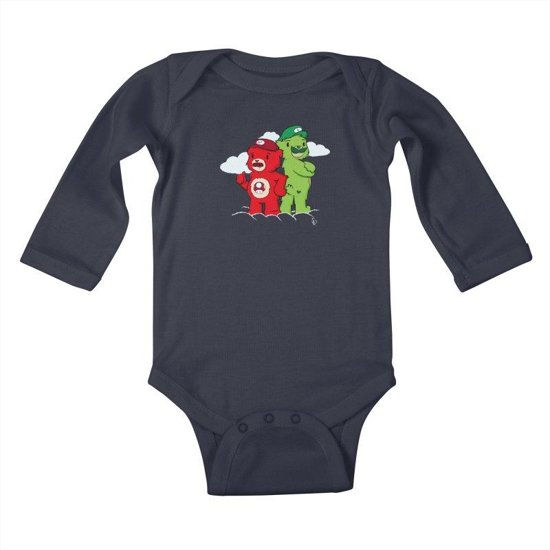 Care Bros Kids Baby Longsleeve Bodysuit by pepemaracas's Artist Shop