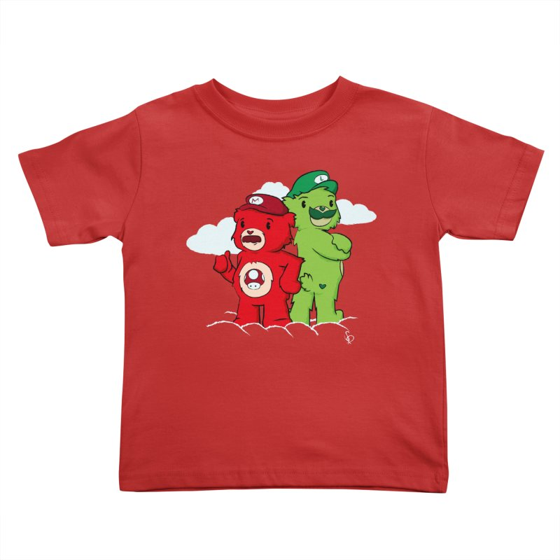 Care Bros Kids Toddler T-Shirt by pepemaracas's Artist Shop