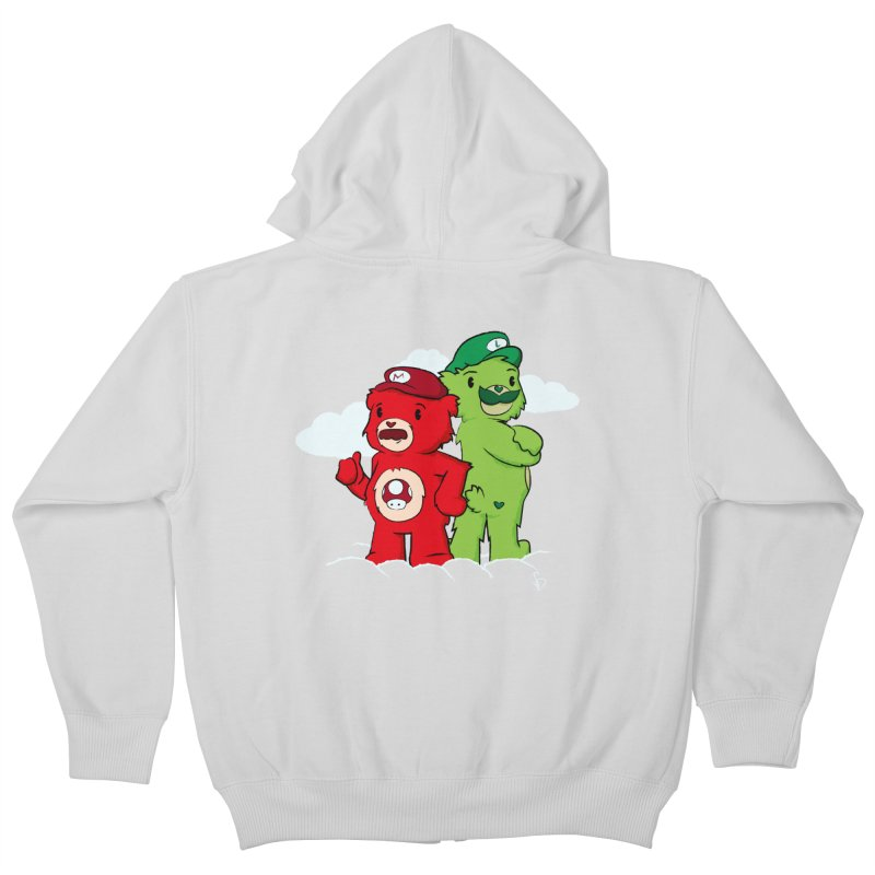Care Bros Kids Zip-Up Hoody by pepemaracas's Artist Shop