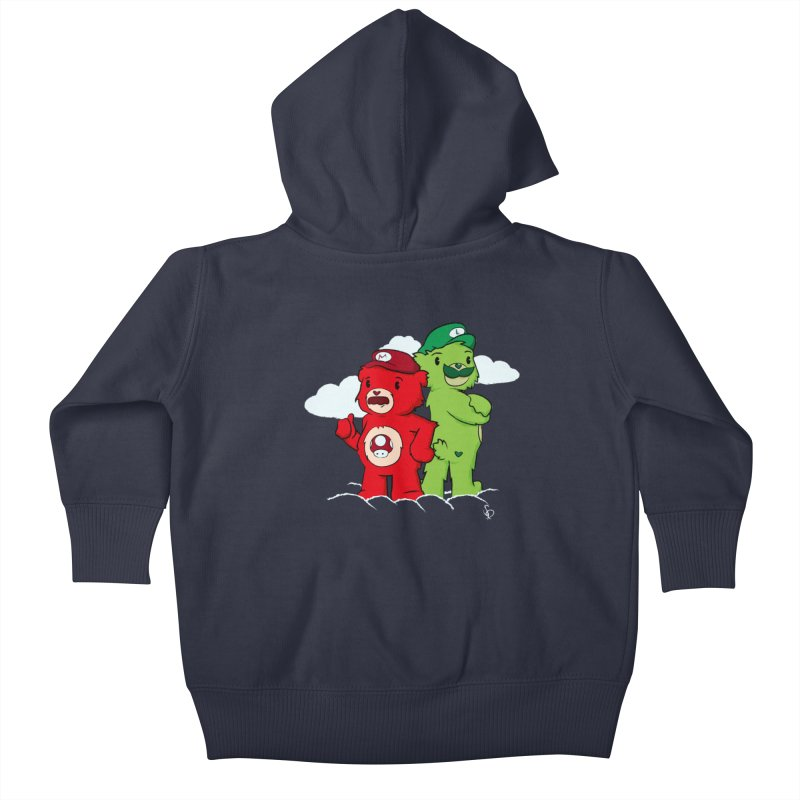 Care Bros Kids Baby Zip-Up Hoody by pepemaracas's Artist Shop